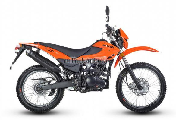 мотоцикл минск X200