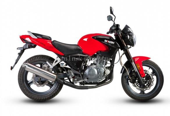 мотоцикл минск m1nsk стрит C4 250